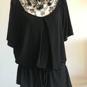 Tops - CLOSET CLEAROUT 🎉NY &CO Black Silky Blouse 15